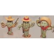 Cactus Cowboys (3 per) Mold