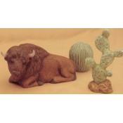 Buffalo, Cactus (2 per) Mold
