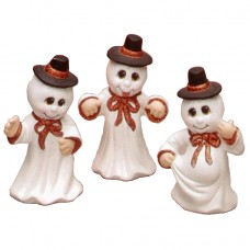 Riverview 585 Ghosts with Hats (3 per) Mold