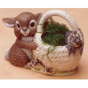 Bunny with Basket Mold