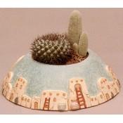 Large Cactus Planter Mold