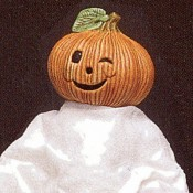 Small Pumpkin Head Mold