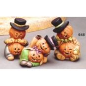 Pumpkin Head Scarecrows mold