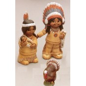 Pilgrims, Indians & Turkey Mold