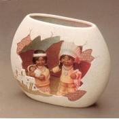 Bricks & Adobe Vase Mold