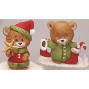 Christmas Bears (star & sock) Mold