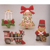 Christmas Magnets (4 per) Mold