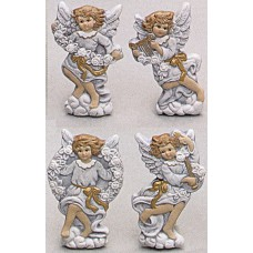 Riverview 777 Cherub Magnets (4 per) Mold