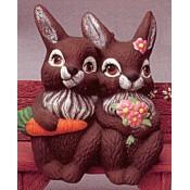 Bunny Couples (2 per) Mold