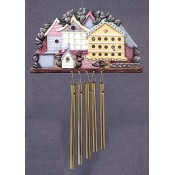 Birdhouse Windchime mold