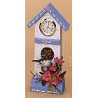 Birdhouse Clock Mold
