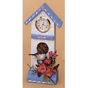 Birdhouse Clock Mold