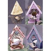 Birdhouse Ornaments (4 per) Mold