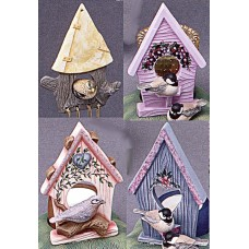 Riverview 858 Birdhouse Ornaments (4 per) Mold
