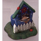 Birdhouse Candleholder Base (2 per) Mold