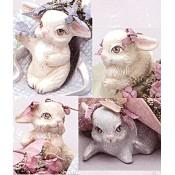Bunnies (4 per) Mold