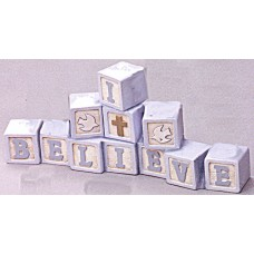"Riverview 899 ""I Believe"" Blocks Mold"