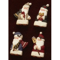 Riverview 914 Santa Magnets Mold