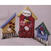 Birdhouses (3 per) Mold