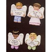 Angel Magnets (4 per) Mold