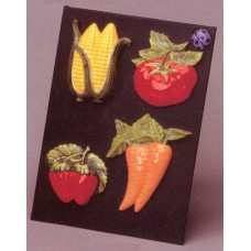 Riverview 993 Vegetable Magnets Mold