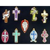 Crosses (9 per) Mold