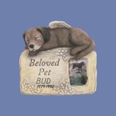 Scioto 3907 Beloved Pet Dog Plaque/Frame Mold