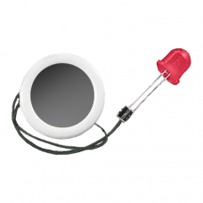 Rudolph Nose - 12 mm Musical Blinking Light
