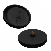 Black Opaque Turntable - 2.75""