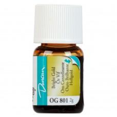 Duncan OG801 Bright Gold Overglaze (2 gram)