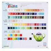 Duncan Envision Glazes Tile Chart