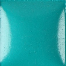 Duncan OS468 Deep Turquoise Bisq-Stain Opaque Acrylic (8 oz.)