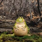 Hop-To-It Savings Frog Bank