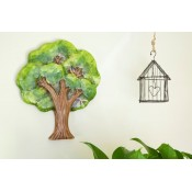 Tree with Bluebirds Plaque