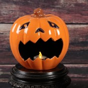 Scaredy Jack Pumpkin Candy Holder