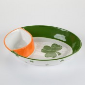 St. Patrick's Day Chip & Dip Plate
