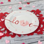 My Baby Love Plate