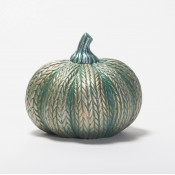 Acrylic Small Knitted Pumpkin