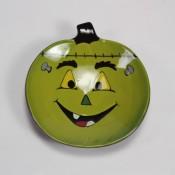 Franken-Pumpkin Plate