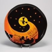 Spooky Witch Plate