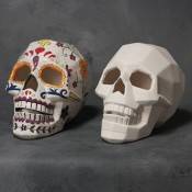Faceted Sugar Skull
