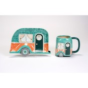 Retro Camper Dish & Mug
