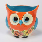 Hawaiian Owl Planter