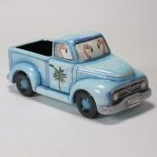 Blue Vintage Truck