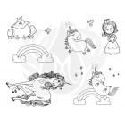 Princess and Unicorns Designer Silkscreen