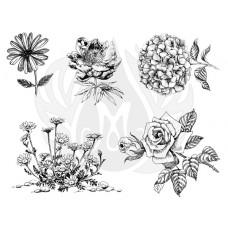 Mayco DSS-0149 Flowers 3 XL Designer Silkscreen