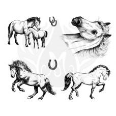 Mayco DSS-0151 Horses Designer Silkscreen