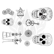 Mayco DSS-0152 Day of the Dead Designer Silkscreen