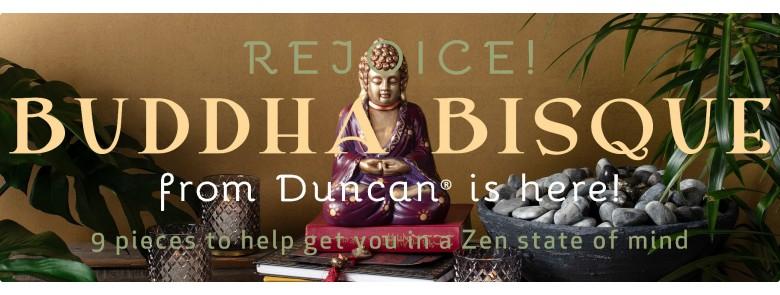 Duncan Buddha Bisque