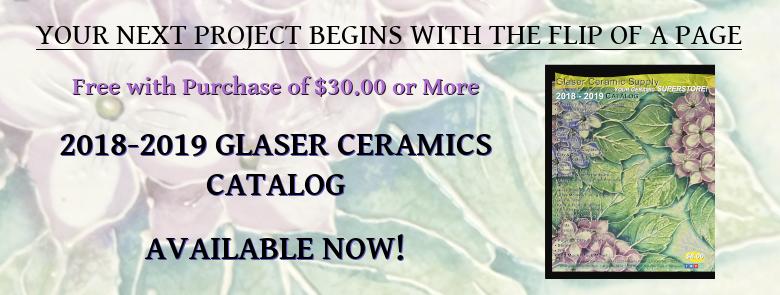 2018-19 Glaser Ceramics Catalog